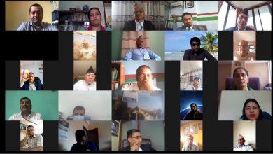 Photo of स्थानिय बिकासमा सहकारीको भुमिका विषयक एक दिने गोष्ठि भर्चुअल माध्यमबाट सम्पन्न