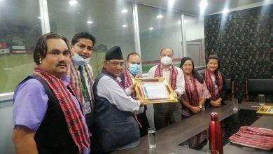 Photo of एकता र समबृद्धी सहकारीलाई राष्ट्रिय सहकारी बैंकको सम्मान